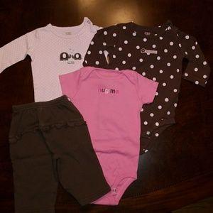 Size 6 months Carter's bundle